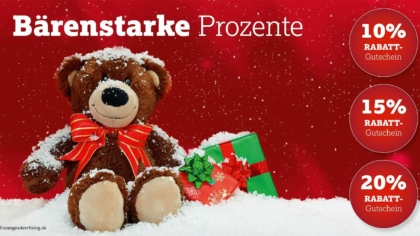 Mailing Weihnachtsteddy