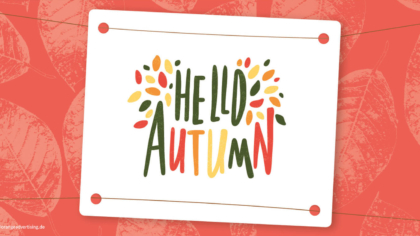 Mailing Hello Autumn mango