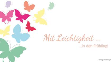 Mailing Schmetterlinge – Mit Leichtigkeit in den Frühling!