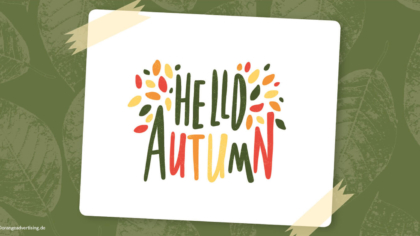 Mailing Hello Autumn