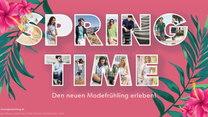 Springtime! Den neuen Modefrühling erleben