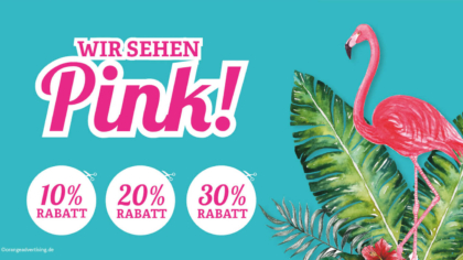 Mailing – Wir sehen Pink!