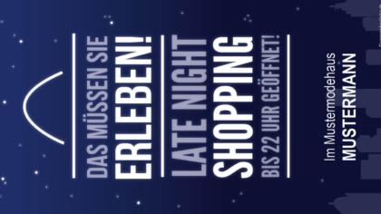 Mailing – Late Night Shopping!
