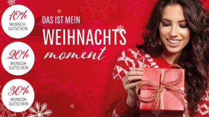 Mailing – Mein Weihnachtsmoment-Geschenkbox-Klebemailing