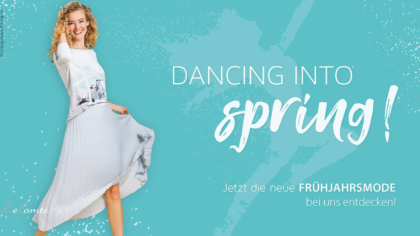 Mailing – Frühling – Dancing into spring