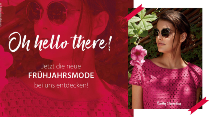 Mailing – Frühling – Oh, hello there!