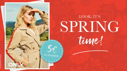 Mailing – Frühling – Look it's spring time