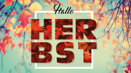 Mailing – Herbst – Hallo Herbst blau
