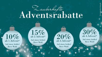 Mailing – Zauberhafte Adventsrabatte