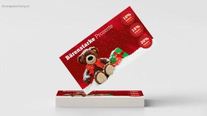 Bärenstark – die Weihnachtsrabattaktion